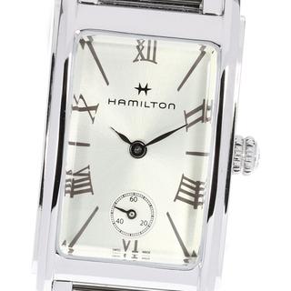 Hamilton - ☆良品 ハミルトン アードモア H112110 レディース 【中古】