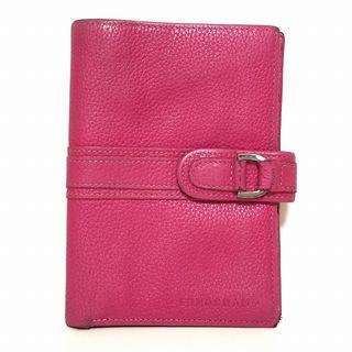 ロンシャン(LONGCHAMP)のロンシャン 2つ折り財布 - ピンク レザー(財布)