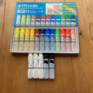 SACRA - サクラ マット水彩 絵の具 いろいろ