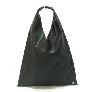 エムエムシックス(MM6)のMM6(エムエムシックス) ハンドバッグ - 黒(ハンドバッグ)
