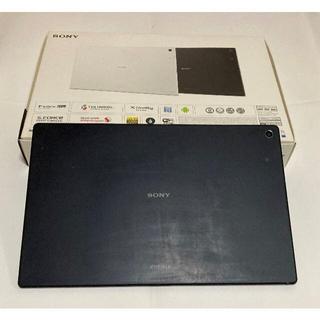 ソニー(SONY)のSONY XPERIA Z2 Tablet SGP512 ブラック おまけ付き(タブレット)