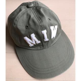メイドインワールド(MADE IN WORLD)のメイドインワールド コットンツイル CAP(キャップ)