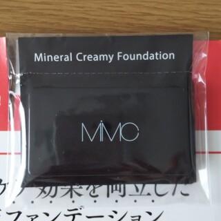 エムアイエムシー(MiMC)のMiMCミネラルクリーミーファンデーションサンプル(ファンデーション)