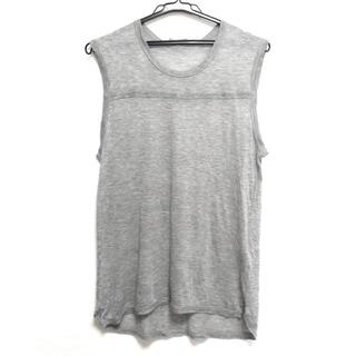 ディオールオム(DIOR HOMME)のディオールオム ノースリーブTシャツ S -(Tシャツ/カットソー(半袖/袖なし))