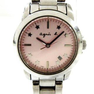 アニエスベー(agnes b.)のagnes b(アニエスベー) 腕時計 - 7N82-0FV0(腕時計)