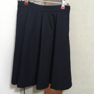 ヴィス(ViS)のViS スカート ネイビー(ひざ丈スカート)