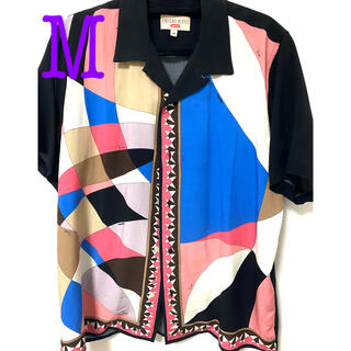 Supreme - Supreme Emilio Pucci Shirt pink プッチ