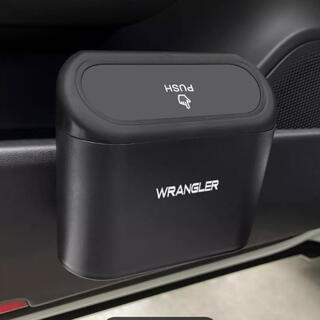 ジープ(Jeep)の【新品】Jeep WRANGLER ロゴ ダストボックス(車内アクセサリ)