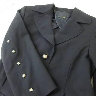 フェンディ(FENDI)のフェンディ FENDI 装飾釦 背面プリーツ ジャケット 38(その他)