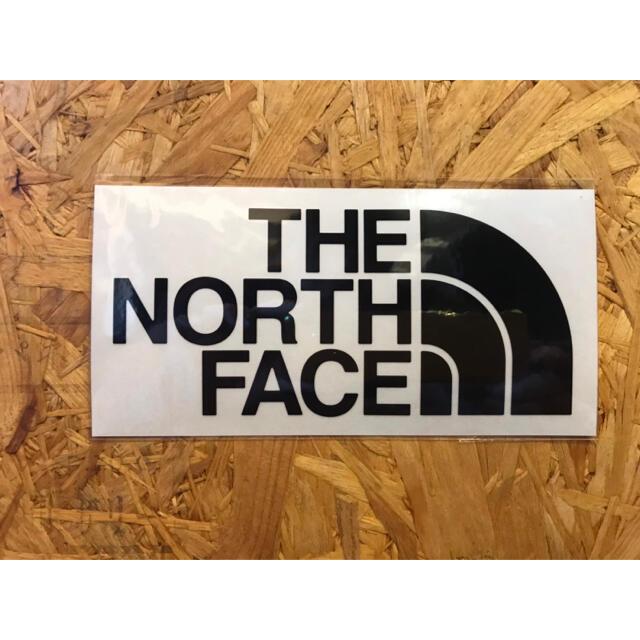 THE NORTH FACE(ザノースフェイス)のノースフェイス カッティングステッカー 黒 正規品 スポーツ/アウトドアのアウトドア(その他)の商品写真