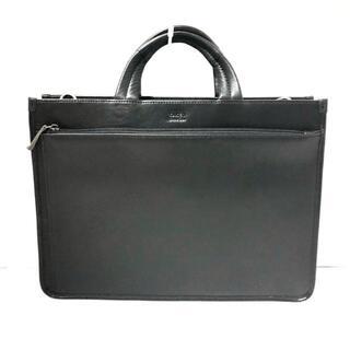 タケオキクチ(TAKEO KIKUCHI)のタケオキクチ ビジネスバッグ美品  - 黒(ビジネスバッグ)