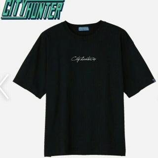 アベイル(Avail)の新品 シティーハンター 2XL 黒 Tシャツ 北条司(Tシャツ/カットソー(半袖/袖なし))