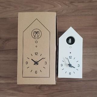 MUJI (無印良品) - 【無印良品】鳩時計