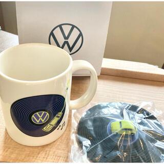 フォルクスワーゲン(Volkswagen)のフォルクスワーゲン シリコンカバー付きマグ(ノベルティグッズ)