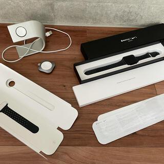 Apple Watch - Apple Watch series3 +Nike ブラック おまけ付き