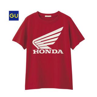 GU - 【新品】GU×HONDA Tシャツ 赤
