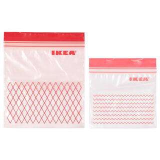 イケア(IKEA)のISTAD イースタード フリーザーバッグ(収納/キッチン雑貨)