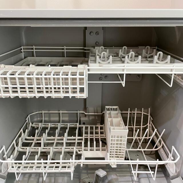 Panasonic(パナソニック)のPanasonic 食器洗い乾燥機 NP-TH2 2019年製 分岐水栓付き スマホ/家電/カメラの生活家電(食器洗い機/乾燥機)の商品写真