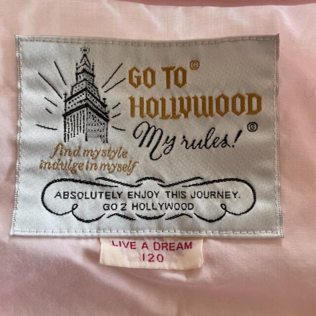 GO TO HOLLYWOOD(ゴートゥーハリウッド)の☆GOTOハリウッド フリルブラウス キッズ/ベビー/マタニティのキッズ服女の子用(90cm~)(ブラウス)の商品写真