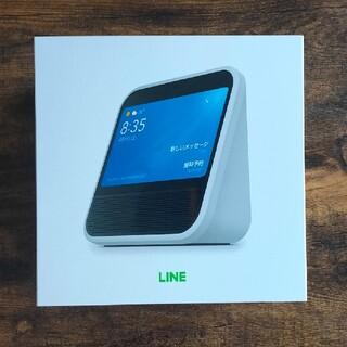 美品 送料無料 LINE Clova Desk ホワイト(スピーカー)