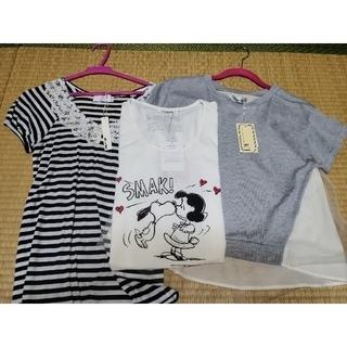 スヌーピー(SNOOPY)の新品 Tシャツ 3点セット タグ付 詰め合わせ セット(Tシャツ(半袖/袖なし))