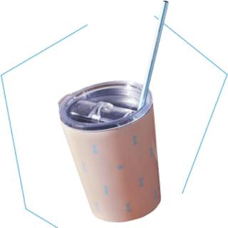タリーズコーヒー(TULLY'S COFFEE)のタリーズ2Way ステンレスタンブラーカップ ストロー(タンブラー)