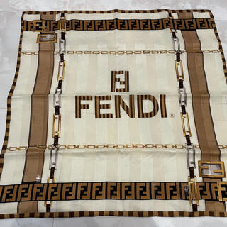 フェンディ(FENDI)のFENDI 大判ハンカチ(ハンカチ/バンダナ)