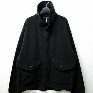 テンダーロイン(TENDERLOIN)のテンダーロイン フリース FLEECE JKT BLACK XL 黒(ブルゾン)