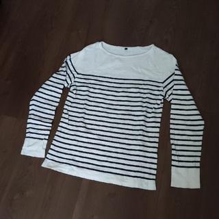 ムジルシリョウヒン(MUJI (無印良品))の無印良品 メンズ ボーダートップス(Tシャツ/カットソー(七分/長袖))