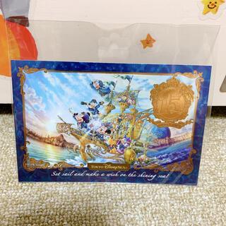 ディズニー(Disney)のディズニーシー 15周年 ポストカード(写真/ポストカード)