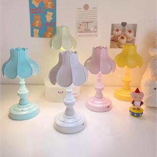 【B級品】 韓国インテリア デスクライト ナイトランプ ピンク