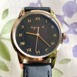 アニエス ㉛ ソーラー腕時計・稼動品✨