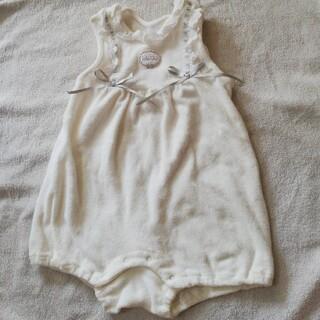 ベビーディオール(baby Dior)のbaby Dior ホワイトロンパース(ロンパース)