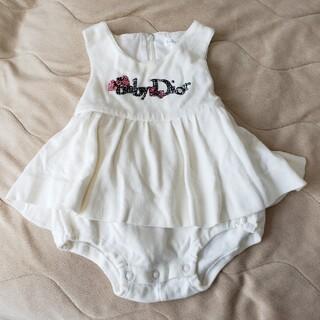 ベビーディオール(baby Dior)のbaby Dior ベイビーディオール ロンパース(ロンパース)