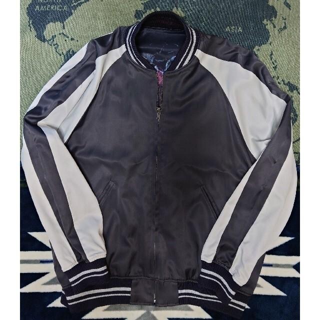LAD MUSICIAN(ラッドミュージシャン)の特再値下げ即決をラッドミュージシャン(プリントリバーシブルブルゾン) メンズのジャケット/アウター(スカジャン)の商品写真