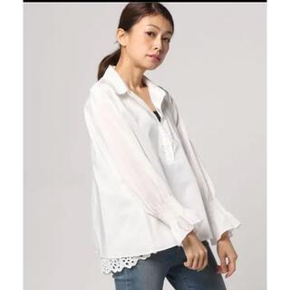イエナスローブ(IENA SLOBE)の新品未使用スローブイエナ レイヤードシャツ(シャツ/ブラウス(長袖/七分))