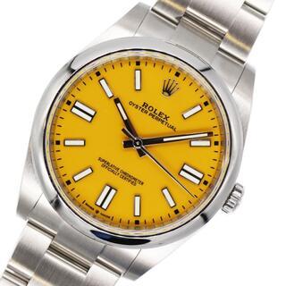ロレックス(ROLEX)のロレックス ROLEX オイスターパーペチュアル 腕時計 メンズ【中古】(腕時計(アナログ))