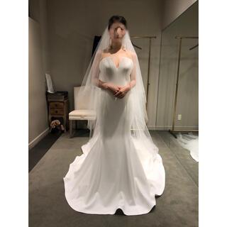 ヴェラウォン(Vera Wang)の【美品】VERA WANG Jocelyn ウェディングドレス US4(ウェディングドレス)