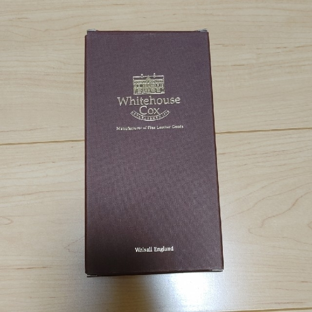 WHITEHOUSE COX(ホワイトハウスコックス)のホワイトハウスコックス Whitehouse Cox メンズ 長財布 未使用 メンズのファッション小物(長財布)の商品写真