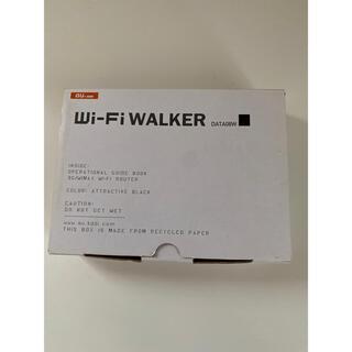 エーユー(au)のWi-Fi WALKER DATA08W(PC周辺機器)