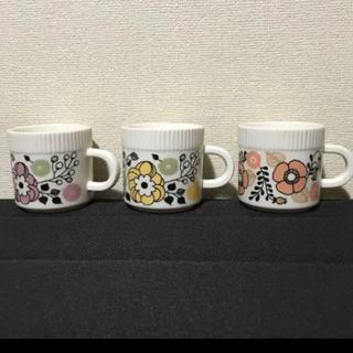 フェリシモ(FELISSIMO)のフェリシモ レトロなミニカップ 3個(グラス/カップ)