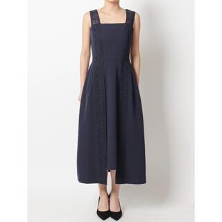 ラグナムーン(LagunaMoon)の美品 lagunamoon ラグナムーン ドレス ワンピース(ミディアムドレス)