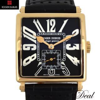 ロジェデュブイ(ROGER DUBUIS)の28本限定 PG製 ロジェ・デュブイ ゴールデンスクエア メンズ(腕時計(アナログ))