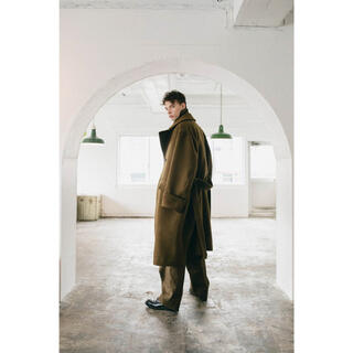 COMOLI - 【blurhms 】Wool Cashmere Beaver Greatcoat