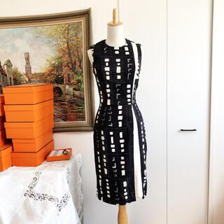ETRO - 美品 ETRO エトロ グラフィック スタイルアップ ワンピース ドレス