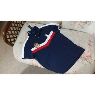 ラルフローレン(Ralph Lauren)の新品☆ラルフローレン ポロシャツ 紺 US L(ポロシャツ)