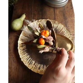 秋仕度🍂ごろっと木の実のスワッグ。ドライフラワースワッグ。ハロウィン🎃(ドライフラワー)