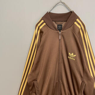 adidas - 【希少カラー】 アディダスオリジナルス トラックジャケット 刺繍ロゴ 3本ライン