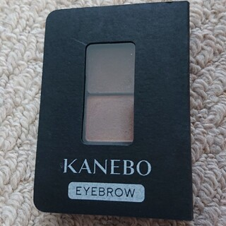 カネボウ(Kanebo)のカネボウ アイブロウデュオ ED2 Dark Shade Brown(パウダーアイブロウ)
