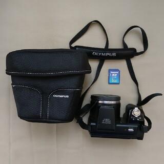 オリンパス(OLYMPUS)のオリンパス OLYMPUS SP-610UZ ケース付き(コンパクトデジタルカメラ)